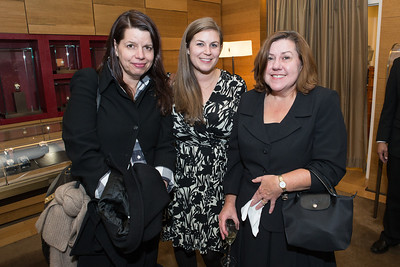 Grace Hailer, Stephanie King, Kathleen Kren. Cartier 30 Years in Washington Private Cocktail Reception. Photo by Alfredo Flores. Cartier Chevy Chase. November 14, 2012