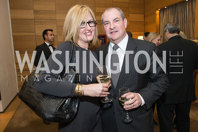 David Weisman, Jacqui Michel. Cartier 30 Years in Washington Private Cocktail Reception. Photo by Alfredo Flores. Cartier Chevy Chase. November 14, 2012
