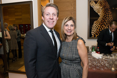A. Bradley Nelson, Fariba Jahanbani. Cartier 30 Years in Washington Private Cocktail Reception. Photo by Alfredo Flores. Cartier Chevy Chase. November 14, 2012