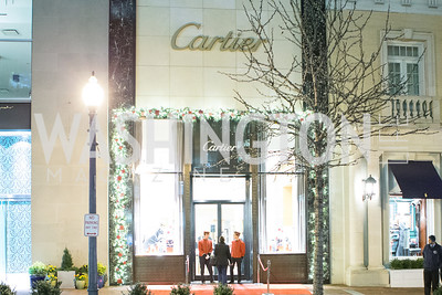 Cartier 30 Years in Washington Private Cocktail Reception. Photo by Alfredo Flores. Cartier Chevy Chase. November 14, 2012