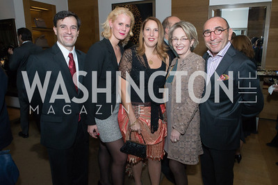 Ignacio Bravo, Adelaide Thomas, Luciana Chesta, Mirella Levinas, Danni Levinas. Cartier 30 Years in Washington Private Cocktail Reception. Photo by Alfredo Flores. Cartier Chevy Chase. November 14, 2012