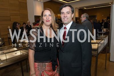 Luciana Chesta, Ignacio Bravo. Cartier 30 Years in Washington Private Cocktail Reception. Photo by Alfredo Flores. Cartier Chevy Chase. November 14, 2012