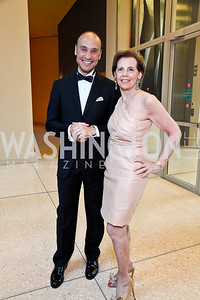 Roderick von Lipsey, Adrienne Arsht. Viva la Musica Gala. Photo by Tony Powell. Italian Embassy. May 19, 2012