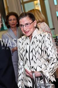 Justice Ruth Bader Ginsburg. Viva la Musica Gala. Photo by Tony Powell. Italian Embassy. May 19, 2012