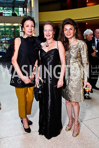 Aniko Gaal Schott, Dietlinde Maazel, Sedi Flugelman. Viva la Musica Gala. Photo by Tony Powell. Italian Embassy. May 19, 2012