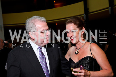 Emanuel Ax, Dietlinde Maazel. Viva la Musica Gala. Photo by Tony Powell. Italian Embassy. May 19, 2012