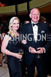Susan and Michael Pillsbury. Viva la Musica Gala. Photo by Tony Powell. Italian Embassy. May 19, 2012