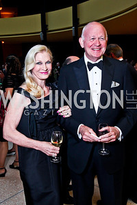 Susan and Michael Pillsbury. Viva la Musica Gala. Photo by Tony Powell. Italian Embassy. May 19, 2012
