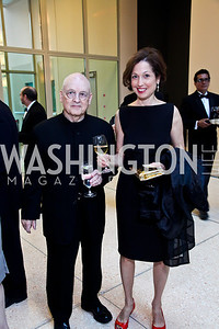 Allan Greenberg, Judith Seligson. Viva la Musica Gala. Photo by Tony Powell. Italian Embassy. May 19, 2012
