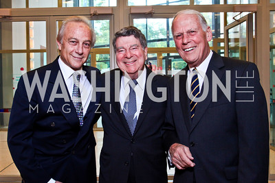 Maximo Flugelman, Calvin Cafritz, Walter Cutler. Viva la Musica Gala. Photo by Tony Powell. Italian Embassy. May 19, 2012