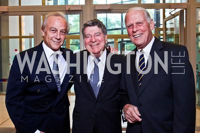Maximo Flugelman, Calvin Cafritz, Walter Cutler. Viva la Musica Gala. Photo by Tony Powell. Italian Embassy. May 19, 2012
