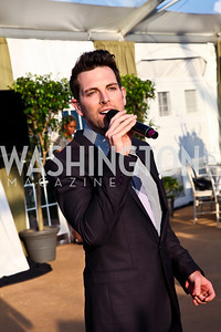 Chris Mann. CharityWorks 100 Point Vintage Wine Tasting. Photo by Tony Powell. Brickman residence. June 2, 2012