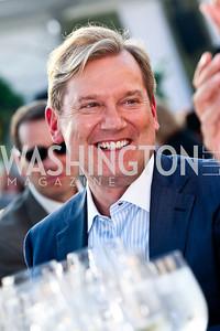 Mark McFadden. CharityWorks 100 Point Vintage Wine Tasting. Photo by Tony Powell. Brickman residence. June 2, 2012