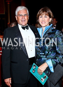 General George and Sheila Casey. Photo by Tony Powell. 2012 CharityWorks Dream Ball. Building Museum. September 29, 2012