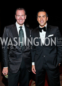 Barry Dixon, Will Thomas. Photo by Tony Powell. 2012 CharityWorks Dream Ball. Building Museum. September 29, 2012