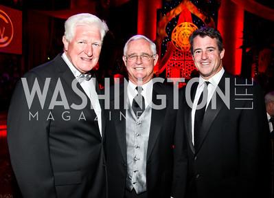 Congressman Jim Moran, Jack and Doug Gansler. Photo by Tony Powell. 2012 CharityWorks Dream Ball. Building Museum. September 29, 2012