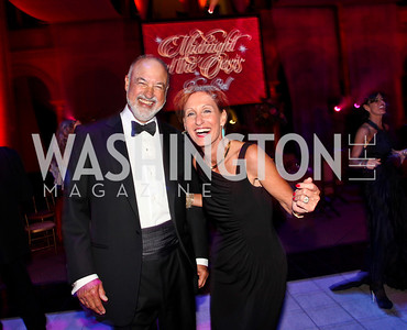 Allen Hirsch, Miriam Pollin. Photo by Tony Powell. 2012 CharityWorks Dream Ball. Building Museum. September 29, 2012
