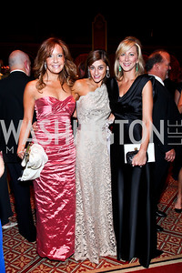 Patrice Brickman, Karen Donatelli, Jean-Marie Fernandez. Photo by Tony Powell. 2012 CharityWorks Dream Ball. Building Museum. September 29, 2012