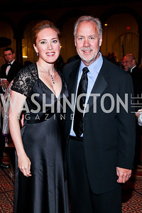 Erin Kilday, Tom Liljenquist. Photo by Tony Powell. 2012 CharityWorks Dream Ball. Building Museum. September 29, 2012