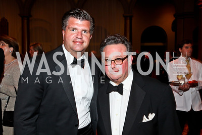 Rich Wilkie, Steve Stolman. Photo by Tony Powell. 2012 CharityWorks Dream Ball. Building Museum. September 29, 2012