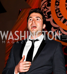 Singer Nathan Pacheco. Photo by Tony Powell. 2012 CharityWorks Dream Ball. Building Museum. September 29, 2012