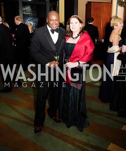 Rodney Hood,Kathy Pendergrast,December 17,2012, Choral Arts Gala,Kyle Samperton
