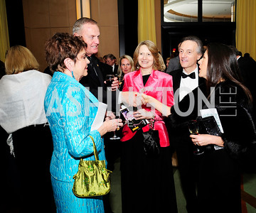 Diane Jones,James Jones, Laura Denise Bisogniero,Italian Amb.Claudio Bisogniero,Veronica Sarukhan,December 17,2012, Choral Arts Gala,Kyle Samperton