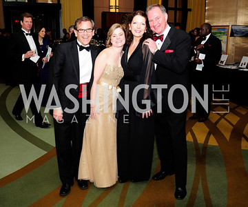 Jim Shaffran,Mary Shaffran,Diana Dykstra,Doug Dykstra,December 17,2012, Choral Arts Gala,Kyle Samperton