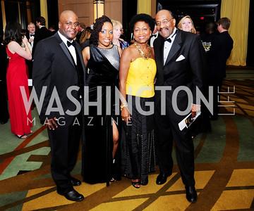 Antwan Harris,Alsha Harris,Solange Viviens,Cliff Barnes,December 17,2012, Choral Arts Gala,Kyle Samperton
