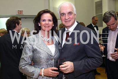 H.E. Jan Matthysen, Ambassador of Belgium, Agnes Matthysen