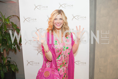 Allison Priebe Brooks. Circe of Alexandria, Grand Re-Opening Pink & Pink & Green Soiree. Photo by Alfredo Flores. Circe of Alexandria. June 12, 2012