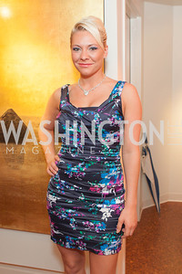 Dominique Hatcher. Circe of Alexandria, Grand Re-Opening Pink & Pink & Green Soiree. Photo by Alfredo Flores. Circe of Alexandria. June 12, 2012