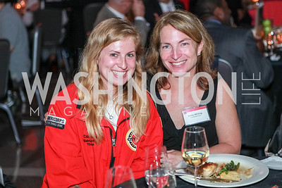 Caroline Goodman, Emily Whiting. City Year Washington DC's 2012 Idealism in Action Gala. Ronald Reagan Building Atrium. May 23, 2012. Photo by Alfredo Flores