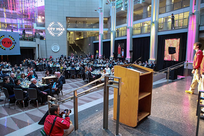City Year Washington DC's 2012 Idealism in Action Gala. Ronald Reagan Building Atrium. May 23, 2012. Photo by Alfredo Flores