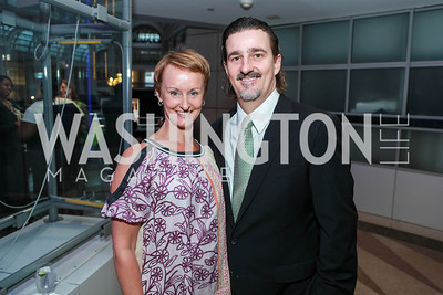 Kristin Ehrgood, Vadim Nikitine. City Year Washington DC's 2012 Idealism in Action Gala. Ronald Reagan Building Atrium. May 23, 2012. Photo by Alfredo Flores