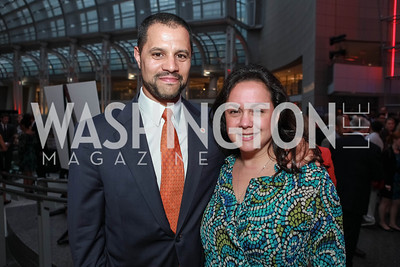 Melissa Torres, Jeffrey Franco. City Year Washington DC's 2012 Idealism in Action Gala. Ronald Reagan Building Atrium. May 23, 2012. Photo by Alfredo Flores