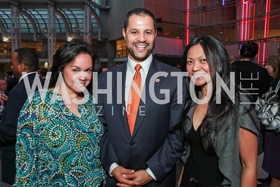 Melissa Torres, Jeffrey Franco, Meggie Pleyto. City Year Washington DC's 2012 Idealism in Action Gala. Ronald Reagan Building Atrium. May 23, 2012. Photo by Alfredo Flores
