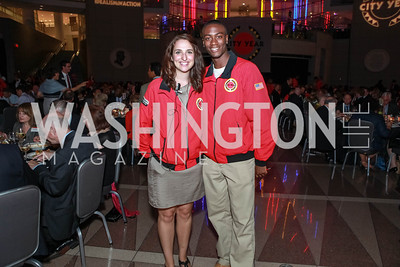 Jane Horstmann, Jason Campbell. City Year Washington DC's 2012 Idealism in Action Gala. Ronald Reagan Building Atrium. May 23, 2012. Photo by Alfredo Flores