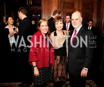 Bea Perez, Debby Kelly,Dennis Kelly,December 5,2012,Clean Water to Communities Reception at The Residence of the Turkish Ambassador,Kyle Samperton