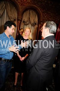 Dean Kamen, Ellen Noughes,Monaco Amb.Gilles Noughes,December 5,2012,Clean Water to Communities Reception at The Residence of the Turkish Ambassador,Kyle Samperton