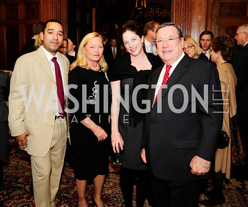 Jason Velez,Ellen Noughes,Kerry Duggan,Monaco Amb. Gilles Noughes,December 5,2012,Clean Water to Communities Reception at The Residence of the Turkish Ambassador,Kyle Samperton