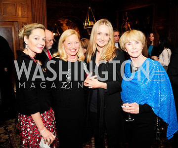 Mariella Trager,Ellen Noughes,Alexandra Cousteau,Jan Cousteau,,December 5,2012,Clean Water to Communities Reception at The Residence of the Turkish Ambassador,Kyle Samperton