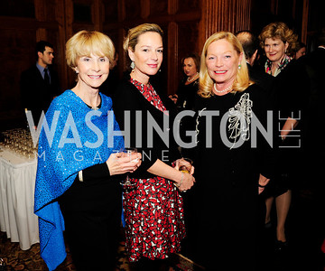 Jan Cousteau, Mariella Trager, Ellen Noughes,December 5,2012,Clean Water to Communities Reception at The Residence of the Turkish Ambassador,Kyle Samperton