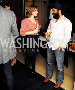 Jenna Ziesenhene,Navroop Mitter,November 5,2012,A cocktail party for Club Caravan at A Bar,Kyle Samperton