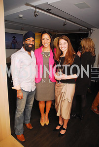 Navroop Mitter,Tina Jeon,Carly Pippin,November 5,2012,A cocktail party for Club Caravan at A Bar,Kyle Samperton