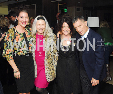 Kristin Guiter,Kate Damon,Izette Folger,Conrad Cafritz,November 5,2012,Club Caravan Cocktail Party At a Bar, ,Kyle Samperton