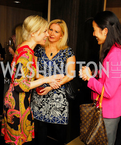 Kirsten Wegner,Stephanie Baucus,Tina Jeon,November 5,2012,A cocktail party for Club Caravan at A Bar,Kyle Samperton