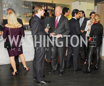 Todd Fox, Michael Pillsbury,November 5,2012,A cocktail party for Club Caravan at A Bar,Kyle Samperton