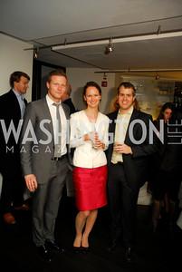 Matt Kroening, Janie Kucera,Paul Nitze,November 5,2012,A cocktail party for Club Caravan at A Bar,Kyle Samperton