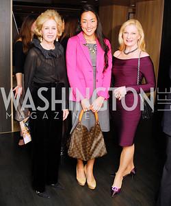 Ann Nitze,Tina Jeon,Susan Pillsbury,November 5,2012,A cocktail party for Club Caravan at A Bar,Kyle Samperton